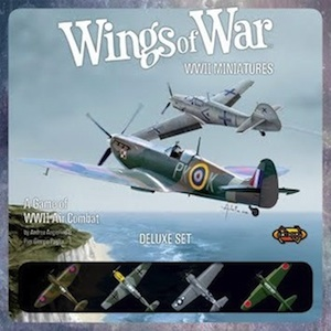 Wings of War WW2 Miniatures - Deluxe set